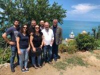 HKÜ belgesel ekibi deniz fenerlerinin peşinde