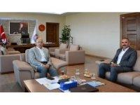 Vali Yardımcısı Turan Yılmaz'dan Rektör Prof. Dr. Sedat Murat'a ziyaret