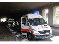 Bolu'da trafik kazası: 2 yaralı