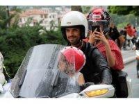 Kenan Sofuoğlu, motosiklet festivaline katıldı