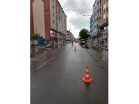Kars'ta trafik uygulaması