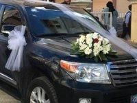 Yavaş talimat verdi! Gökçek'e tahsis edilen cip düğün arabası oldu