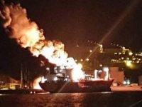 Aliağa'da gemide korkunç patlama: Ölü ve çok sayıda yaralı var!