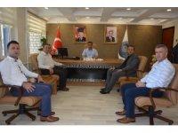 SGK İl Müdürü Uçar'dan Başkan Gültekin'e ziyaret