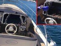 İşadamına büyük şok! jet-skili hırsızlar lüks yatlara dadandı...