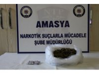 Amasya'da uyuşturucu operasyonu: 2 gözaltı