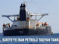 Cebelitarık, Suriye'ye İran petrolü taşıyan 'Grace 1' isimli tankere el koydu