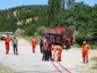 Orman işletme ekibine yangın eğitimi