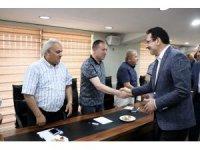 AK Parti Genel Başkan Yardımcısı Yavuz Sakarya'da belediye başkanlarıyla buluştu