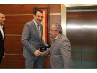 Genel Başkan Yardımcısı Ali İhsan Yavuz'dan Vali Nayir'e ziyaret