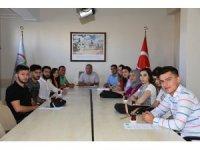 Aksaray'da Sosyal Çalışma Programı ile öğrenciler iş başında