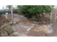 Kars'ta selden 6 ev hasar gördü