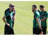 Konyaspor, Bolu kampında ilk antrenmanına çıktı