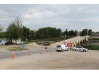 Edirne'de tarihi Tunca Köprüsü restorasyona alındı