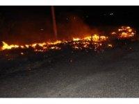 Erzincan'da Organize Sanayi Bölgesinde yangın