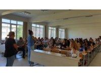 Arnavut öğrenciler Trakya Üniversitesi'ni ziyaret etti