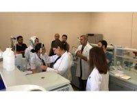 Artuklu Üniversitesi Merkezi Araştırma Laboratuvarı'nda uygulamalı eğitim