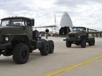 S-400'lerin teslimatından ilk görüntüler!