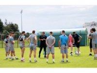 Trabzonspor'da 7 oyuncu özel çalıştı