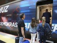 15 Temmuz treni İstanbul'a geldi!