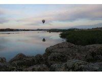 Frig Vadisi'nde ilk balon uçuşu gerçekleşti