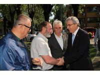 Başkan Yüce'den Muhtarlar Federasyonuna ziyaret