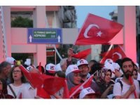 """Kırklareli'de binler """"Milli Birlik Günü"""" için toplandı"""