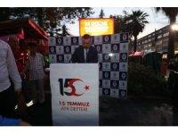 Rize'de Demokrasi ve Milli Birlik etkinliği düzenlendi