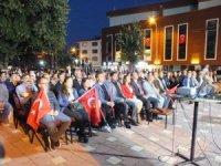 Pazaryeri ilçesi 15 Temmuz'da birlik beraberlik mesajı verdi.