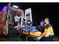 Zeytinburnu sahilden denize atlayan kadın yaralandı