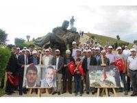 Kurtuluş Savaşı'nın baba-oğul şehitleri ile 15 Temmuz'un baba-oğul şehitleri, Dumlupınar'da anıldı