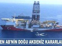 Türkiye, AB'nin Doğu Akdeniz için aldığı yaptırım kararlarına tepki gösterdi