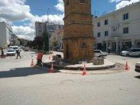 Saat Kulesi'nin koruma çemberi daraltılıyor