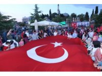 Gebze'de 15 Temmuz'un yıl dönümünde birlik mesajı verildi