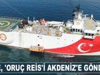 Türkiye, Oruç Reis araştırma gemisini Akdeniz'e gönderecek