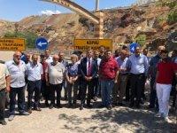 Milletvekili Erol, Maden ilçesinde inceleme de bulundu