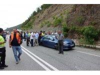 Artvin'de zincirleme kaza: 7 yaralı