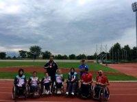 Bağcılarlı engelli atletler 15 Temmuz spor yarışmalarına damga vurdu