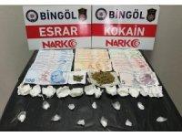 Bingöl'de uyuşturucu operasyonları:  3 tutuklama