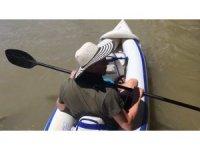 Büyük Menderes'te kano yolculuğu