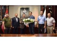 Belediye İş Sendikası'ndan Başkan Ataç'a teşekkür ziyareti