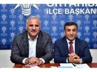 AK Parti Ortahisar İlçe Başkanlığı'nı ziyaret eden Zorluoğlu projelerini anlattı