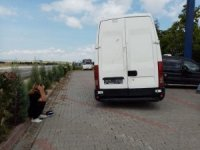 Tekirdağ'da 30 mülteciyi taşıyan minibüs kaza yaptı