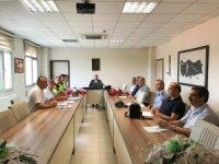 Burhaniye'de trafik değerlendirme toplantısı yapıldı