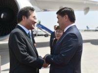 Güney Kore Başbakanı Kırgızistan'da
