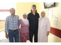 Mardinli kanser hastası kadın Diyarbakır'da şifa buldu