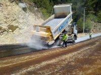 Muğla Büyükşehir'den Milas'ta asfaltlama çalışması