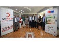 Adapazarı Belediyesi ile Kızılay arasında işbirliği