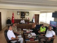 Bulanık'ta 'İlçe Trafik Komisyonu Toplantısı' yapıldı