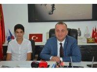 """""""Her şey çok güzel olacak"""" sloganının mimarı Berkay, Sinop Belediye Başkanı'nın misafiri oldu"""